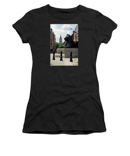 Nelson's Lion Women's T-Shirt (Athletic Fit)