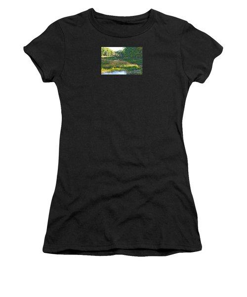 Nemasket River  Women's T-Shirt (Athletic Fit)