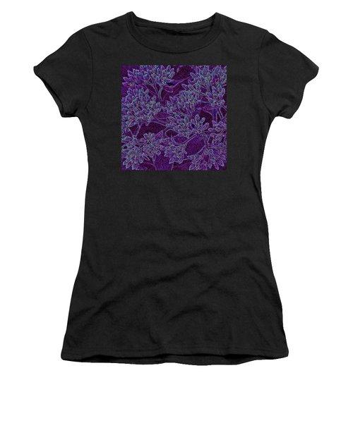 Neon Blossoms Women's T-Shirt (Athletic Fit)