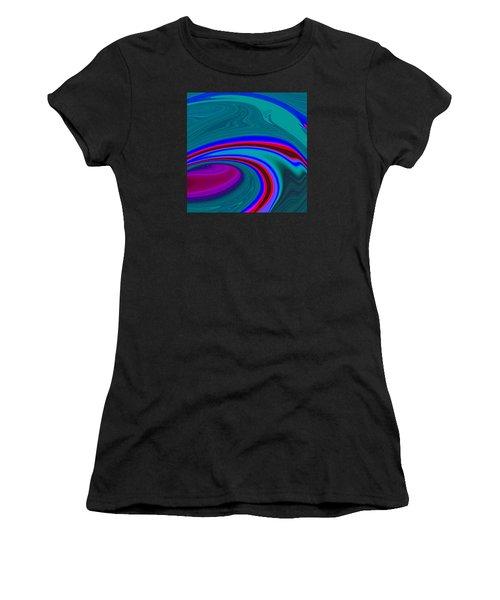 Neon Wave C2014 Women's T-Shirt (Athletic Fit)