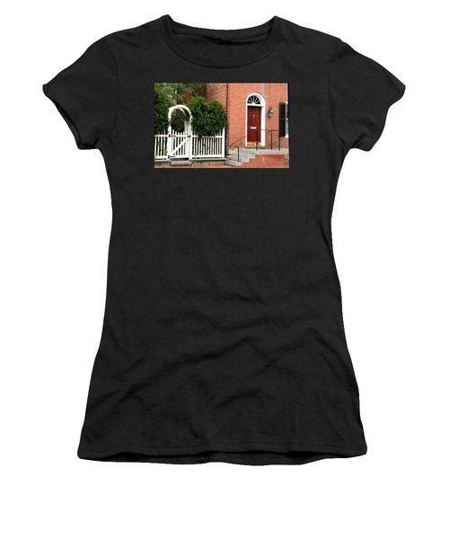 New England Street Scene Women's T-Shirt