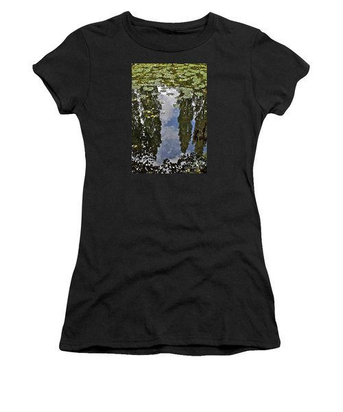 Reflections Amongst The Lily Pads Women's T-Shirt
