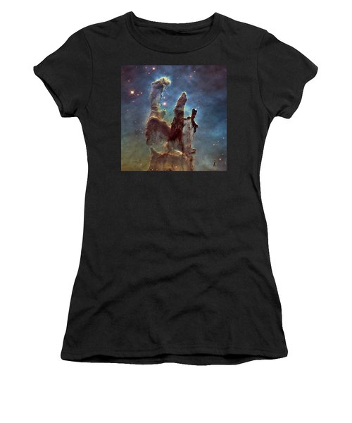 New Pillars Of Creation Hd Square Women's T-Shirt