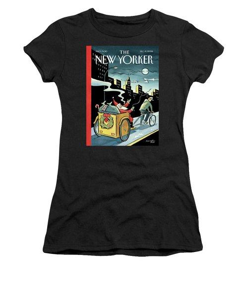 New Yorker December 15, 2008 Women's T-Shirt