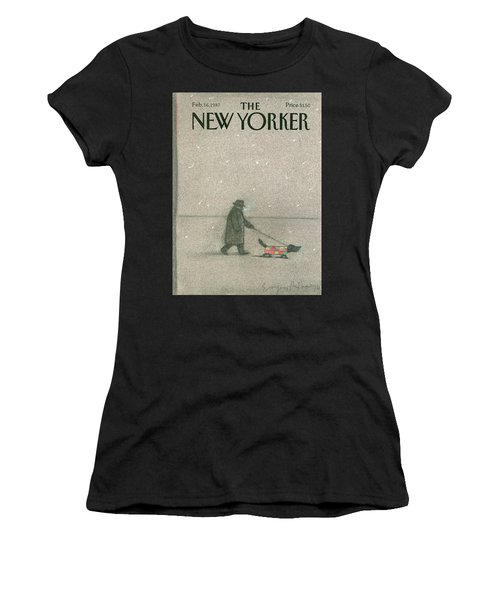 New Yorker February 16th, 1987 Women's T-Shirt