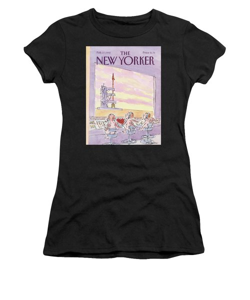 New Yorker February 17th, 1992 Women's T-Shirt