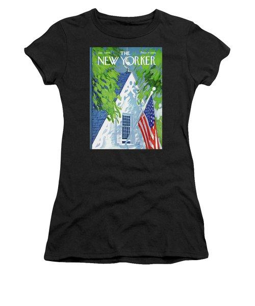 New Yorker July 2nd, 1966 Women's T-Shirt