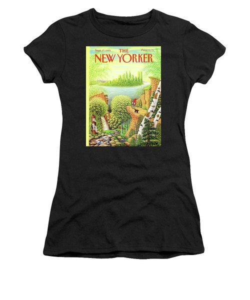 Green New York Women's T-Shirt