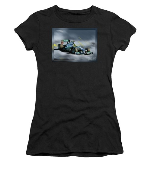 Nico Rosberg Mercedes Benz Women's T-Shirt