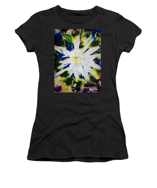 Night Bloomer Women's T-Shirt (Athletic Fit)