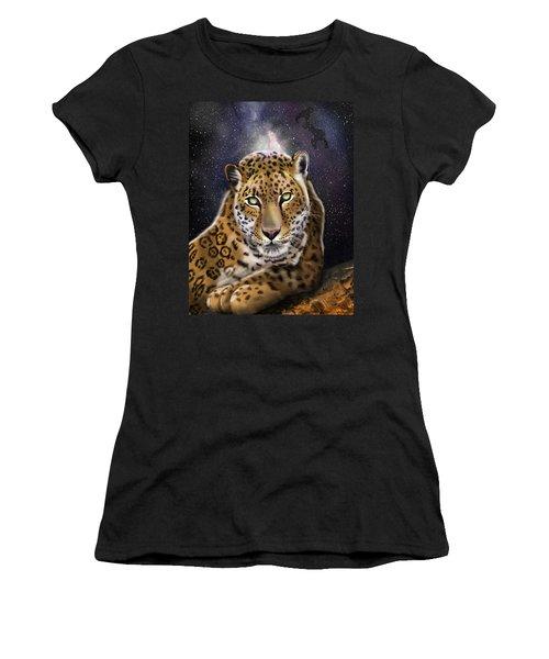 Fourth Of The Big Cat Series - Leopard Women's T-Shirt