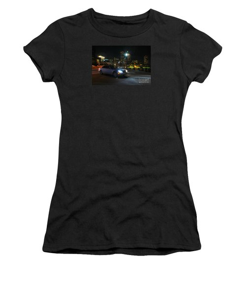 Night Out In Boston Women's T-Shirt (Athletic Fit)