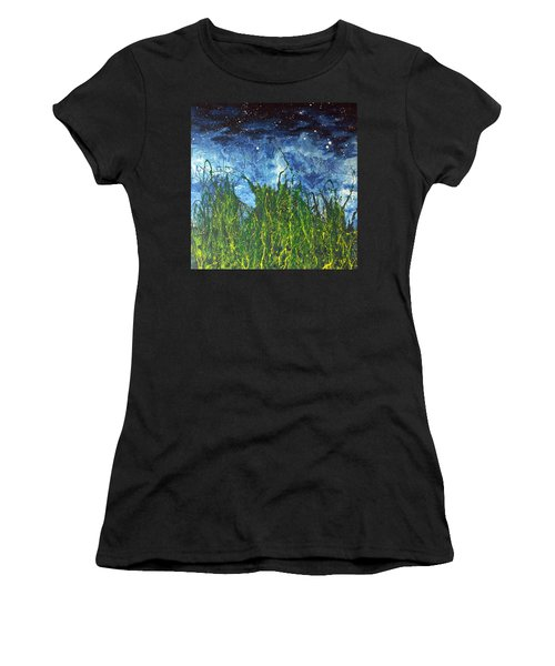 Night Sky 2007 Women's T-Shirt (Athletic Fit)