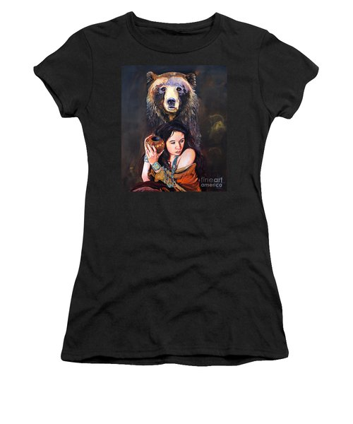 Nine Stars Woman - Bear Medicine Women's T-Shirt