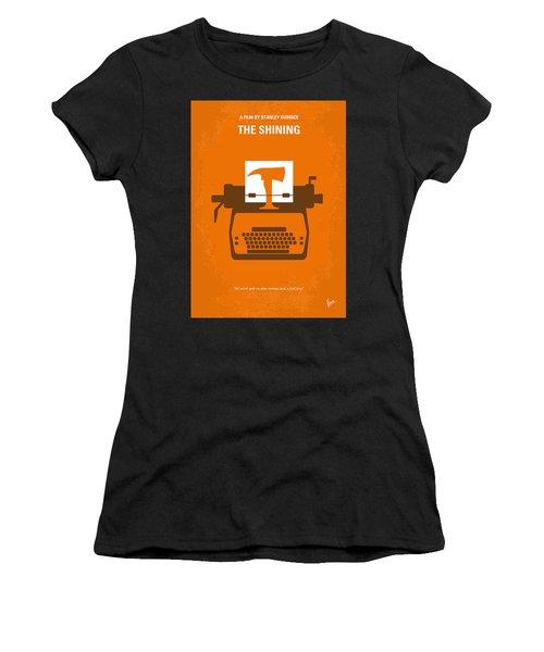 No094 My The Shining Minimal Movie Poster Women's T-Shirt