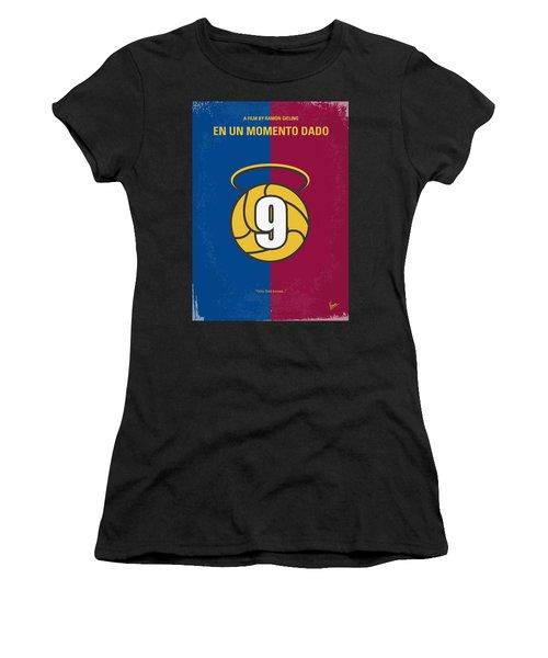 No272 My En Un Momento Dado Minimal Movie Poster Women's T-Shirt (Athletic Fit)