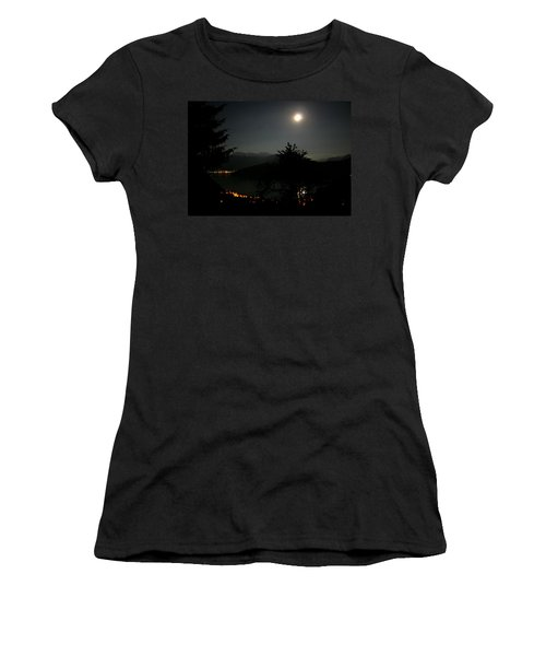 Nocturne In Switzerland Women's T-Shirt