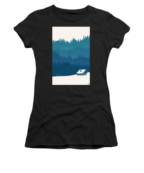 Nordic Ski Scene Women's T-Shirt