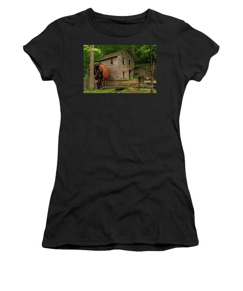 Rice Grist Mill Women's T-Shirt (Athletic Fit)