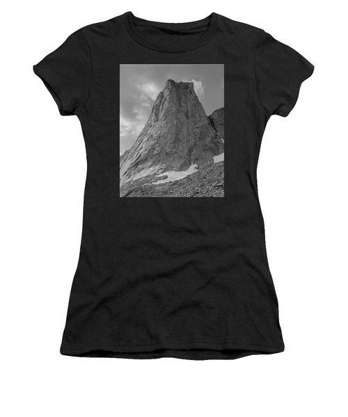 109649-bw-north Face Pingora Peak, Wind Rivers Women's T-Shirt