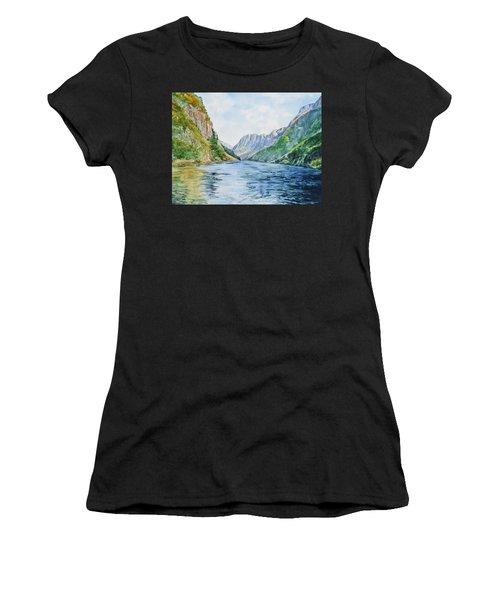 Norway Fjord Women's T-Shirt