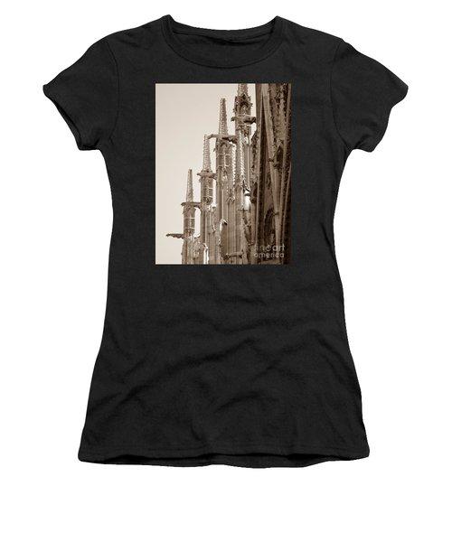 Notre Dame Sentries Sepia Women's T-Shirt