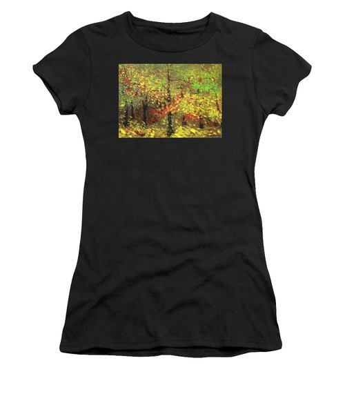 November Women's T-Shirt (Athletic Fit)