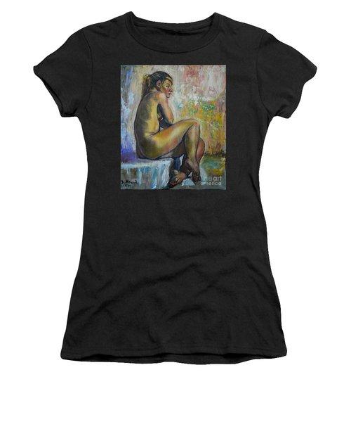 Nude Eva 1 Women's T-Shirt