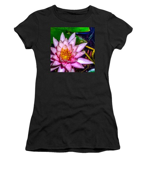 Women's T-Shirt (Junior Cut) featuring the photograph Nymphaeaceae by Rob Sellers