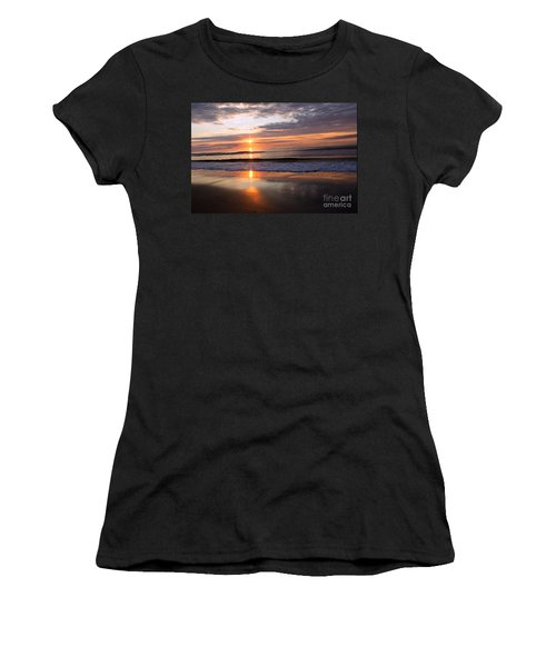 Ocean Isle Beach At Sunrise Women's T-Shirt (Athletic Fit)