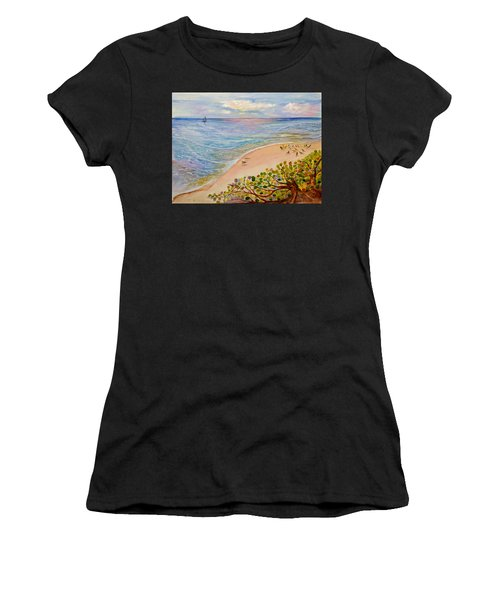 Seaside Grapes Women's T-Shirt (Athletic Fit)