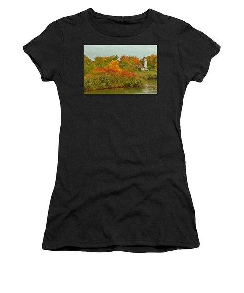 October Light Women's T-Shirt (Athletic Fit)