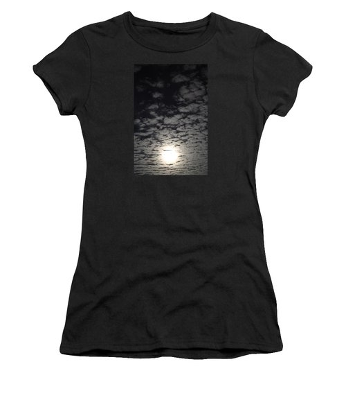 October Moon Women's T-Shirt (Athletic Fit)