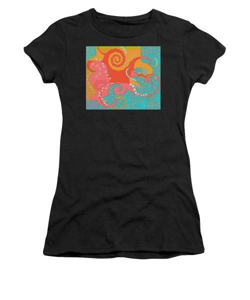 Octopus 1 Women's T-Shirt (Athletic Fit)