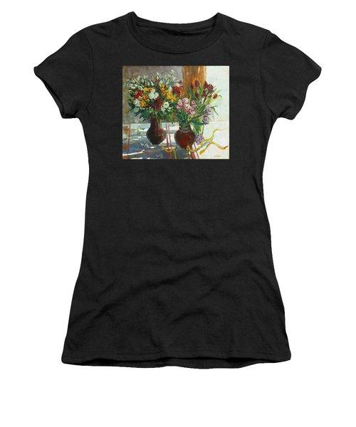 Of Bouquets Plexus Women's T-Shirt (Athletic Fit)
