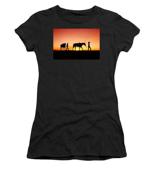 Off To The Barn Women's T-Shirt