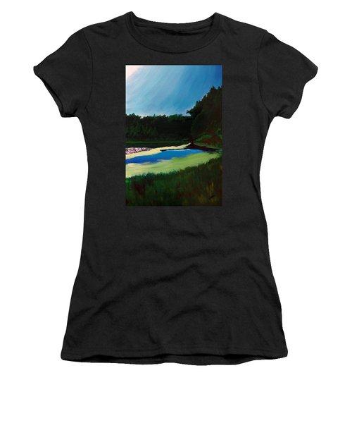 Oglebay Park - Palmer Course Women's T-Shirt (Athletic Fit)