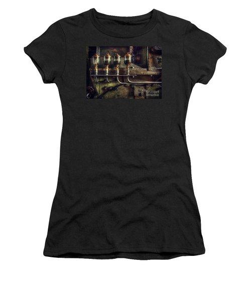 Oil Valves Women's T-Shirt (Athletic Fit)