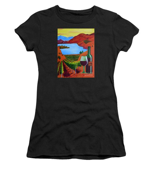 Okanagan Wine Country Women's T-Shirt