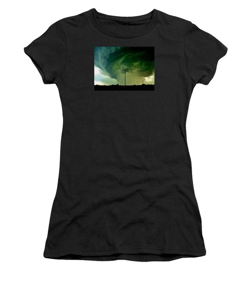 Oklahoma Mesocyclone Women's T-Shirt (Athletic Fit)