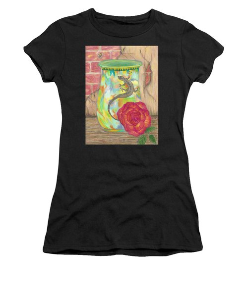 Old Crock And Rose Women's T-Shirt (Athletic Fit)