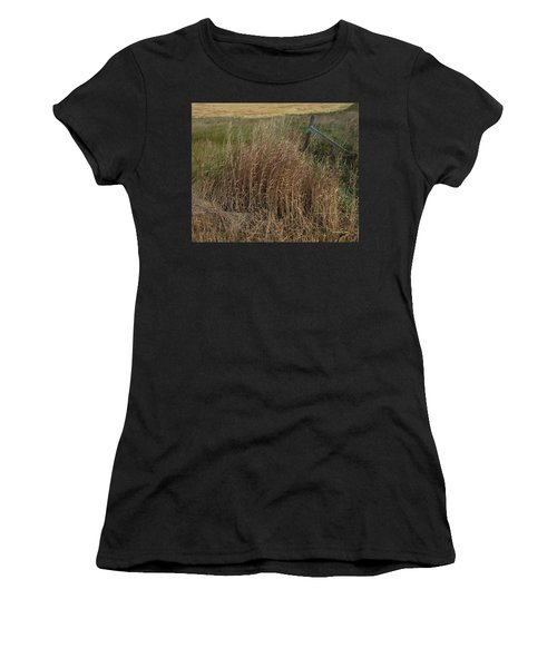 Old Fence Line Women's T-Shirt