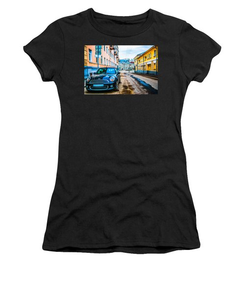 Old Lane Women's T-Shirt (Junior Cut) by Alexander Senin