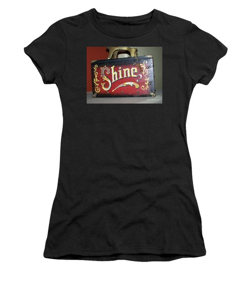 Old Shoe Shine Kit Women's T-Shirt (Athletic Fit)