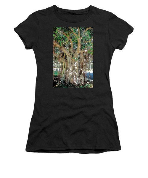 Old Soul Women's T-Shirt (Junior Cut) by Terry Reynoldson