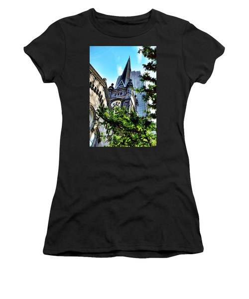 Old Stone Church - Cleveland Ohio - 1 Women's T-Shirt
