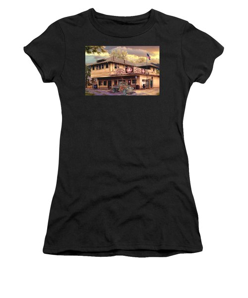 Old Town Irvine Country Store Women's T-Shirt (Athletic Fit)