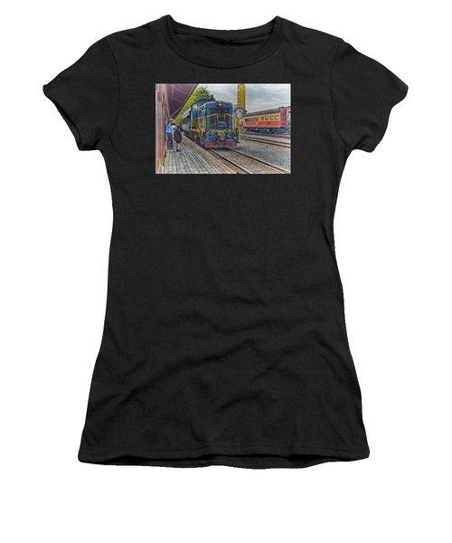 Old Town Sacramento Railroad Women's T-Shirt