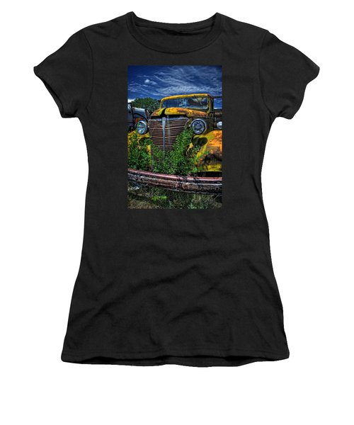 Women's T-Shirt (Junior Cut) featuring the photograph Old Yeller by Ken Smith