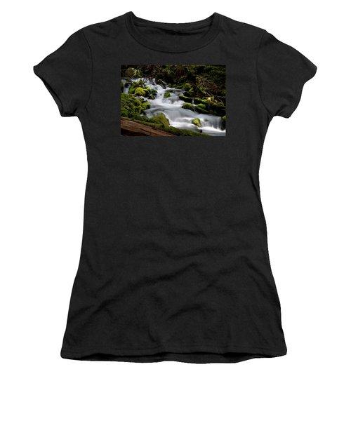 Olympic Spring Women's T-Shirt (Junior Cut) by Art Shimamura